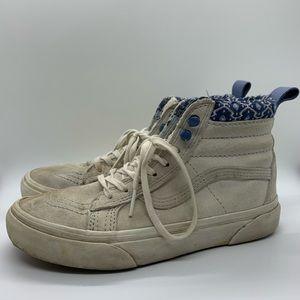 Vans Sk8 high winter patterned waterproof shoes